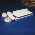 Fa szánkó (1 db) - összerakható, Fa, Famegmunkálás, Egyéb fa,  Fa szánkó - összerakható    Mérete (összerakva): 5,3x11x1,1 cmAnyaga: natúr rétegelt lemez, nem ..., Alkotók boltja