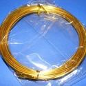 Alumínium drót-14 (1,5 mm/~ 6 m) - arany, Drót, Fűzőszál,  Alumínium drót-14 - aranyVastagsága: Ø 1,5 mmHossza: 6 mAz ár 1 csomagra vonatkozik.  , Alkotók boltja
