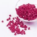 Szögletes gyöngy (18. minta/10 g) - matt ciklámen, Gyöngy, ékszerkellék, Gyöngy,  Szögletes gyöngy (18. minta) - matt ciklámen   Kiszerelés: 10 g (kb. 120 db gyöngy)  A gyöngyszem ..., Alkotók boltja