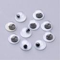 Rezgőszem (5 mm/20 db) - kerek, Figurák,  Rezgőszem - ragasztható - kerek  Mérete: 5 mmMagassága: 2,5 mm Többféle méretben rendelhető.Az ár 2..., Alkotók boltja