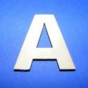 Fa betű (45x35 mm/1 db) - A, Fa, Egyéb fa,  Fa betű - A    Mérete: 45x35 mmAnyaga: natúr rétegelt lemezAnyagvastagság: 3 mm  Az ár egy darab..., Alkotók boltja