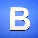 Fa betű (45x35 mm/1 db) - B, Fa, Egyéb fa,  Fa betű - B    Mérete: 45x35 mmAnyaga: natúr rétegelt lemezAnyagvastagság: 3 mm  Az ár egy darab..., Alkotók boltja