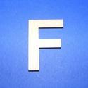 Fa betű (45x35 mm/1 db) - F, Fa, Egyéb fa,  Fa betű - F    Mérete: 45x35 mmAnyaga: natúr rétegelt lemezAnyagvastagság: 3 mm Az ár egy darab ..., Alkotók boltja
