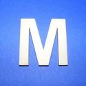 Fa betű (45x35 mm/1 db) - M, Fa, Egyéb fa,  Fa betű - M    Mérete: 45x35 mmAnyaga: natúr rétegelt lemezAnyagvastagság: 3 mm Az ár egy darab ..., Alkotók boltja