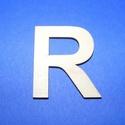 Fa betű (45x35 mm/1 db) - R, Fa, Egyéb fa,  Fa betű - R    Mérete: 45x35 mmAnyaga: natúr rétegelt lemezAnyagvastagság: 3 mm Az ár egy darab ..., Alkotók boltja