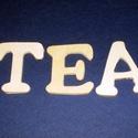 Fa felirat (45x45 mm/1 csomag) - TEA, Fa,  Fa felirat - TEA  Mérete: 45x45 mmAnyaga: natúr fa  Az ár egy darab termékre vonatkozik.  , Alkotók boltja