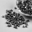 Szögletes gyöngy (26. minta/15 g) - metál ólomszürke, Gyöngy, ékszerkellék, Gyöngy,  Szögletes gyöngy (26. minta) - metál ólomszürke - matt  Kiszerelés: 15 g (kb. 160 db gyöngy)  A gy..., Alkotók boltja