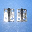 Zsanér (13. minta/1 db) - 19x15 mm, Csat, karika, zár, Mindenmás,   Zsanér (13. minta) - ezüst színben  A zsanér mérete: 19x15 mmA furat mérete: 3 mm  Az ár egy dara..., Alkotók boltja