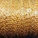 Arany színű lánc (3/A minta/1 m) - 4,1x3x0,8 mm, Gyöngy, ékszerkellék,  Arany színű lánc (3/A minta)  A szem mérete: 4,1x3x0,8 mm  A feltüntetett ár 1 méter láncra..., Alkotók boltja