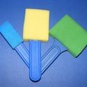 Szivacsecset készlet (3 db) - szögletes, Szerszámok, eszközök,  Szivacsecset készlet - szögletes    A fej szélessége: 2,5 cm, 5 cm, 7,5 cm  Az ár egy készl..., Alkotók boltja