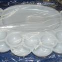 Festékpaletta (1 db) - nagy tálkás, Szerszámok, eszközök, Mindenmás,  Festékpaletta - nagy tálkás - fehér    Mérete: 21x14 cmAnyaga: műanyag  Az ár egy darab termékre..., Alkotók boltja