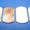 Fúrt kagyló ékszer alap (80/K  minta/4 db) - natúr, Gyöngy, ékszerkellék,  Fúrt kagyló ékszer alap (80/K minta) - natúr   Az ékszerkészítés dekoratív kiegészítője..., Alkotók boltja