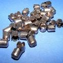 Gyöngykupak (42. minta/4 db) - bronz, Gyöngy, ékszerkellék, Egyéb alkatrész, Ékszerkészítés,  Gyöngykupak (42. minta) - bronz színben  Mérete: 8x6mm  Az ár 4 darab termékre vonatkozik   , Alkotók boltja