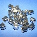 Gyöngykupak (42. minta/4 db) - platinum, Gyöngy, ékszerkellék, Egyéb alkatrész,  Gyöngykupak (42. minta) - platinum színben  Mérete: 8x6 mm  Az ár 4 darab termékre vonatkozik..., Alkotók boltja