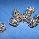Cső-19/E (10x10 mm/1 db), Gyöngy, ékszerkellék, Ékszerkészítés,  Cső-19/E - antik ezüst színben  Mérete: 10x10 mm (belül: 6 mm)  Az ár egy darab termékre vonatkozi..., Alkotók boltja