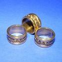 Gyűrű/karika (710. minta/1 db), Gyöngy, ékszerkellék, Alkotók boltja