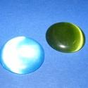 Macskaszem-9 (Ø 25 mm/1 db) - kerek, színes, Gyöngy, ékszerkellék, Cabochon,  Macskaszem-9 - kerek - színes  Méret: Ø 25 mm  Használható a termékeim között található g..., Alkotók boltja
