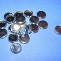 Ékszer alap (135/A minta/1 db), Gyöngy, ékszerkellék,  Ékszer alap(135/A minta) - kerek - platinum színben  Mérete: 10 mm; belső mérete: 8,5 mm..., Alkotók boltja