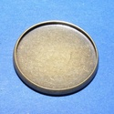 Medál alap (178. minta/1 db), Gyöngy, ékszerkellék,  Ékszer alap (178. minta) - kerek - bronz színben  Mérete: 20 mmA belső mérete: 18 mmAz alapba ..., Alkotók boltja