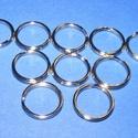Kulcskarika (460/A minta/10 db) - 15 mm, Csat, karika, zár, Mindenmás,  Kulcskarika (460/A minta) - nikkel színben  Mérete: 15x2 mmAz ár 10 darab termékre vonatkozik.  , Alkotók boltja