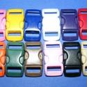 Műanyag kapocs-1 (10 mm/1 db) - fehér, Gyöngy, ékszerkellék, Alkotók boltja