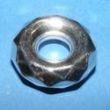 Mega-55 (mintás karika/1 db), Gyöngy, ékszerkellék,  Mega-55 - mintás karika   Mérete: 23 mm (belső méret 8 mm)  Az alkatrész anyaga műanyag, me..., Alkotók boltja