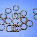 Szerelőkarika (1007/A minta/20 db) - 10x1,2 mm, Gyöngy, ékszerkellék,  Szerelőkarika (1007/A minta)  - szimpla - antik bronz színbenErősített változat  Mérete: 10x1..., Alkotók boltja