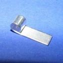 Medálrögzítő (352/H minta/1 db), Gyöngy, ékszerkellék,  Medálrögzítő (352/H minta) - ragasztható - ezüst színben  Mérete: 20x6 mm  Az ár egy..., Alkotók boltja