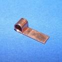Medálrögzítő (352/J minta/1 db), Gyöngy, ékszerkellék,  Medálrögzítő (352/J minta) - ragasztható - réz színben  Mérete: 14x4 mmA lyuk mérete: 3 mm..., Alkotók boltja
