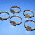 Gyűrű alap (39. minta/1 db),  Gyűrű alap (39. minta) - ragasztható - bronz s...