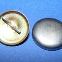 Fém gomb alap (26. méret/1 db), Gomb, Varrás,   Fém gomb alap (26. méret)    A csomag tartalma 1 db behúzható fém (alumínium) gomb alap (..., Alkotók boltja