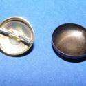 Fém gomb alap (28. méret/1 db), Gomb, Varrás,   Fém gomb alap (28. méret)  A csomag tartalma 1 darab behúzható fém (alumínium) gomb alap ..., Alkotók boltja