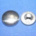 Fém gomb alap (9. méret/10 db), Gomb, Varrás,  Fém gomb alap (9. méret)  A csomag tartalma 10 darab behúzható fém (alumínium) gomb alap (alsó és ..., Alkotók boltja