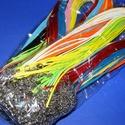Bőrutánzat nyaklánc alap (100 db/csomag) - mix, Gyöngy, ékszerkellék,  Bőrutánzat nyaklánc alap - vegyes színben  A szerelékek színe: nikkel A nyaklánc hossza: kb...., Alkotók boltja