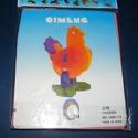 Polifoam gyerekpuzzle (csibe), Vegyes alapanyag, Mindenmás,      Polifoam gyerekpuzzle - csibe Csibét ábrázoló habszivacs puzzle gyerekeknek.Puha, biztonságos,..., Alkotók boltja