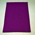 Dekorfilc (1 mm/puha) - padlizsánlila, Textil,   Dekorfilc - puha - padlizsánlila  Mérete: 30x20 cmVastagsága: 1 mm  A filc anyag, könnyen vág..., Alkotók boltja