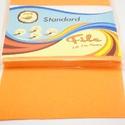 Dekorfilc (1,5 mm/kemény) - napsárga, Textil,  Dekorfilc - kemény - napsárga  Mérete: 30x20 cmVastagsága: 1,5 mm  A filc anyag, könnyen vágh..., Alkotók boltja