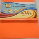 Dekorfilc (1,5 mm/kemény) - narancssárga, Textil,  Dekorfilc - kemény - narancssárga  Mérete: 30x20 cmVastagsága: 1,5 mm  A filc anyag, könnyen v..., Alkotók boltja