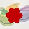 Papírlyukasztó (51. minta/1 db) - virág - 18 mm, Szerszámok, eszközök, Mindenmás,       Papírlyukasztó (51. minta) - 6 szirmú virág  Különböző motívumaival díszíthetünk füzetet, meg..., Alkotók boltja