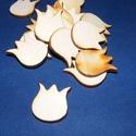 Fa alap (243. minta/1 db) - tulipán, Fa, Famegmunkálás, Egyéb fa,  Fa alap (243. minta) - tulipán  Mérete: 23x27 mmAnyaga: rétegelt lemezAnyagvastagság: 3 mm Az ár e..., Alkotók boltja