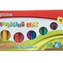 Optima gyurma (200 g) - 12 szín, Vegyes alapanyag, Gyurma,  Optima gyurma - 12 színKönnyen formázható, élénk színű gyurma.Gyermekbarát, egészségre káros anyag..., Alkotók boltja