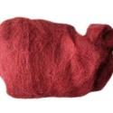 Festett gyapjú (50 g) - bordó, Textil,  Festett gyapjú - bordó  Kiszerelés: 50 g Többféle színben.Az ár 50 g termékre vonatkozik., Alkotók boltja