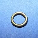 Szerelőkarika (1021. minta/20 db) - 8x1,2 mm, Gyöngy, ékszerkellék,    Szerelőkarika (1021. minta) - szimpla - bronz színben Mérete: 8x1,2 mm   Az ár 20 db termékr..., Alkotók boltja