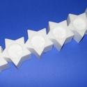 Hungarocell mécsestartó (6 részes/1 db) - csillag, Díszíthető tárgyak, Hungarocell, Mindenmás,  Hungarocell mécsestartó - 6 részes - csillag  Mérete: 45x9x6 cm (a mécses kivágás: 4,5 cm)  Az ár ..., Alkotók boltja