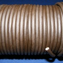 Hasított bőrszíj - 5 mm (9. minta/1 m) - sötétbarna, Egyéb alapanyag,  Hasított bőrszíj (9. minta) - sötétbarnaMérete: 5 mm átmérőjűValódi hasított marhabőrb..., Alkotók boltja
