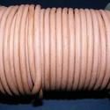 Hasított bőrszíj - 5 mm (22. minta/1 m) - antik rózsaszín (AKCIÓS), Vegyes alapanyag, Egyéb alapanyag, Bőrművesség,  Hasított bőrszíj (22. minta) - antik rózsaszín - AKCIÓSMérete: 5 mm átmérőjűValódi hasított marhab..., Alkotók boltja