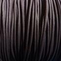 Hasított bőrszíj - 1,5 mm (14. minta/1 m) - sötétlila, Vegyes alapanyag, Egyéb alapanyag, Bőrművesség,  Hasított bőrszíj (14. minta) - sötétlila  Mérete: 1,5 mm átmérőjű  Valódi hasított marhabőrből kés..., Alkotók boltja