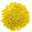 Üvegmozaik-3 (100 db/csomag) - citromsárga, Vegyes alapanyag,  Üvegmozaik-3 - citromsárga      Mérete: 10x10 mmVastagsága: 4 mm  Kiszerelés: kb. 100 db/c..., Alkotók boltja