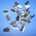 Nemesacél szalagvég (STAS-65 minta/1 db) - 10 mm, Gyöngy, ékszerkellék,  Nemesacél szalagvég (STAS-65 minta) - 10 mmNemesacél (304 Stainless Steel) termék  Mérete: 5x2..., Alkotók boltja