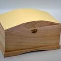 Fadoboz (26x16x15 cm/1 db) - felül íves, Fa, Egyéb fa,  Fadoboz - felül íves  Mérete: 26x16x15 cmAnyaga: natúr fa, nem pácolt, nem kezelt  Az ár egy darab..., Alkotók boltja